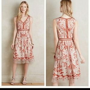 Moulinette Souers Alicante Embroidered Dress
